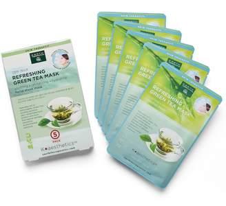 Earth Therapeutics 5-pk. Refreshing Green Tea Face Masks