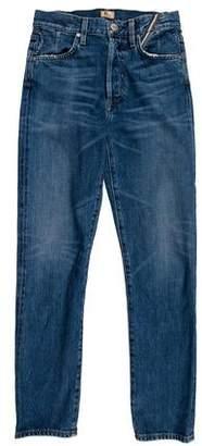 Atelier Jean High-Rise Straight-Leg Jeans