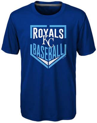 Outerstuff Kansas City Royals Run Scored Poly T-Shirt, Big Boys (8-20)