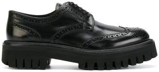 Dolce & Gabbana ridged sole brogues