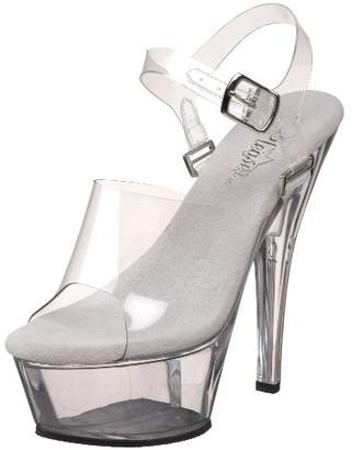Pleaser USA Women's Kiss-208DAS Platform Sandal