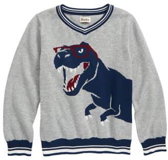 Hatley Cool Rex V-Neck Sweater