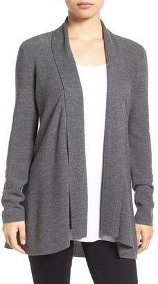 Eileen Fisher Merino Wool Shaped Cardigan $288 thestylecure.com