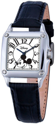 DISNEY Disney Mickey Mouse Womens Black Strap Watch-W000464 $50 thestylecure.com