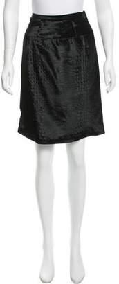 Viktor & Rolf Velvet Knee-Length Skirt