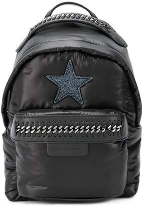 Stella McCartney star patch mini backpack