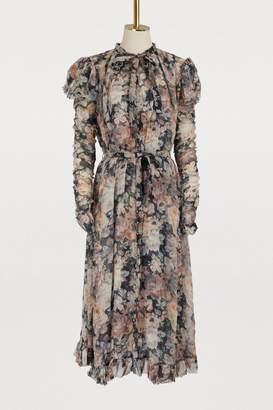 Zimmermann Tempest silk long dress