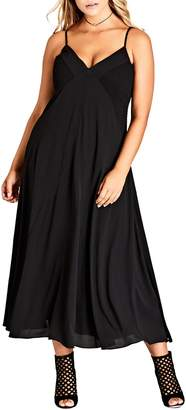 City Chic Boho Chic Maxi Dress