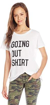 Sub_Urban RIOT Junior's Going Out Shirt Loose-Fit Graphic T-Shirt $44 thestylecure.com