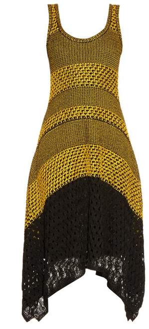 Bi-colour crochet dress Proenza Schouler OwZkj1