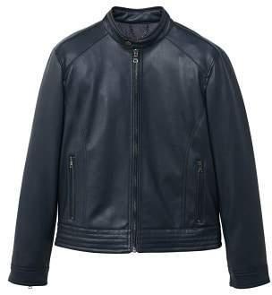 Mango man MANGO MAN Zipped biker jacket