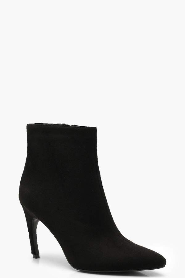 boohoo Pointed Toe Shoe Boots