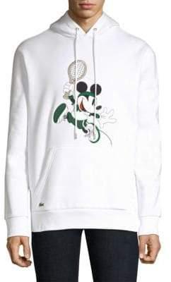 Lacoste Disney Collaboration Mickey Tennis Hoodie