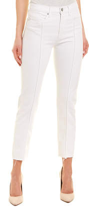 Hudson Jeans Jeans Zooey White High-Rise Straight Crop