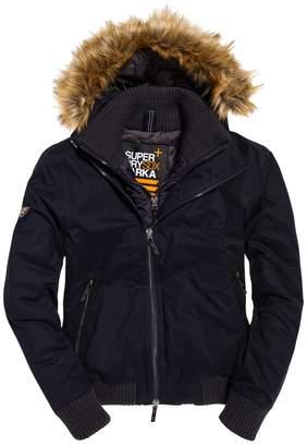 Superdry Wind Bomber Short Hooded Jacket