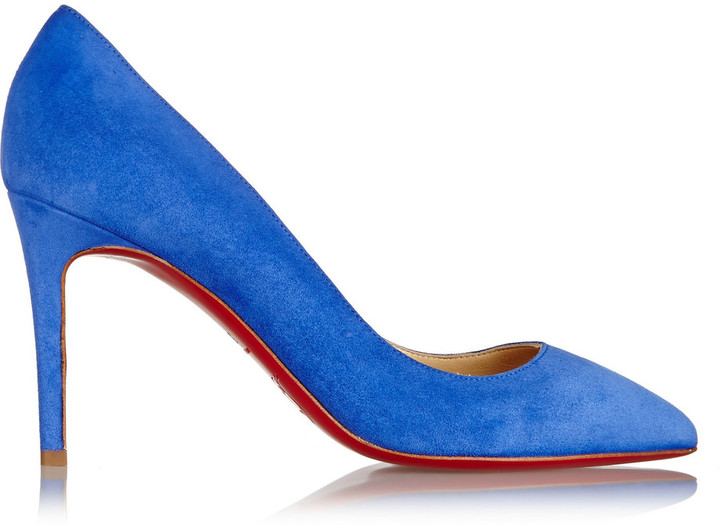 Christian Louboutin Christian Louboutin Pigalle 85 suede pumps