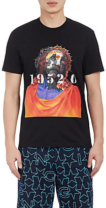 Givenchy Men's Religious Iconography T-Shirt-Black $640 thestylecure.com