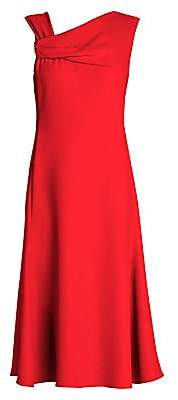 Giorgio Armani Women's Asymmetric Fit-And-Flare Dress