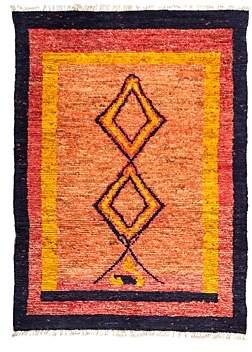 Tribal Area Rug, 6'4 x 8'8