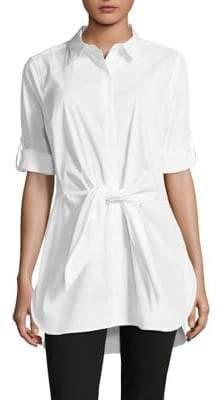 Calvin Klein Self-Tie Roll-Tab Tunic