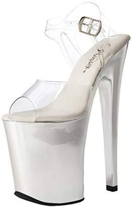 Pleaser USA Women's Xtreme-808/C/SCH Platform Sandal