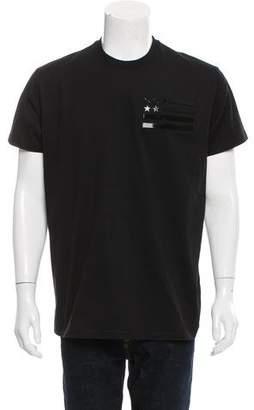 Givenchy 2016 American Flag T-Shirt