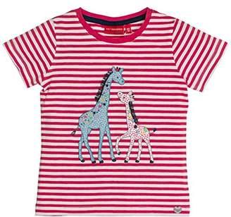 Salt&Pepper Salt and Pepper Girl's Wonderful Stripes T-Shirt,(Manufacturer Size: /134 cm)