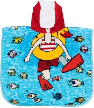 Dolce & Gabbana hooded printed beach towel