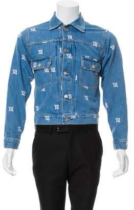 Misbhv Embroidered Denim Jacket w/ Tags