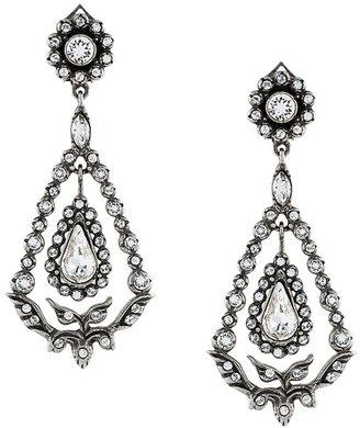 romantic strass earrings