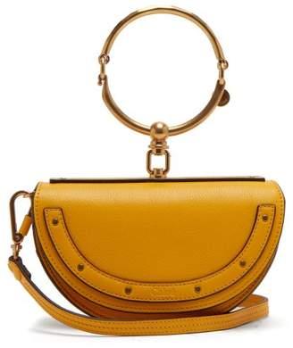 Chloé - Nile Minaudière Small Leather Clutch - Womens - Yellow
