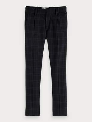 Scotch & Soda Checked Trousers Slim fit