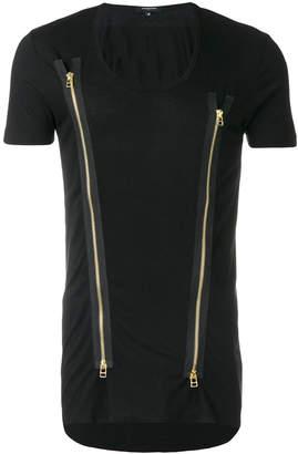 Unconditional zip insert T-shirt