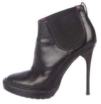 Burberry Leather Ankle Boots