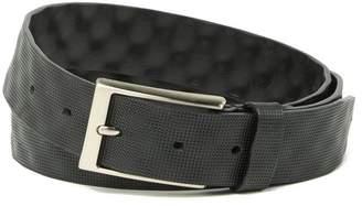 Boconi Textured Cut Edge Belt