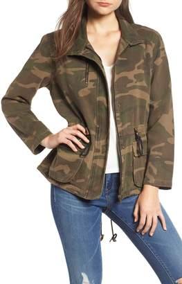 Blank NYC BLANKNYC Camo Print Army Jacket