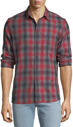 Levi's Men's Made & Crafted Plaid Standard Shirt