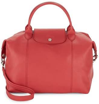 Longchamp Women's Le Pliage Cuir Leather Shoulder Bag