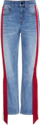 Hellessy Carlton Mid-Rise Distressed Boyfriend Jeans
