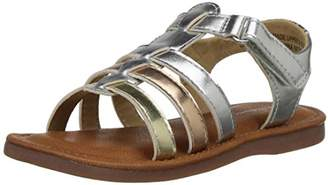 Hanna Andersson Dani-H Girl's Metallic Sandal