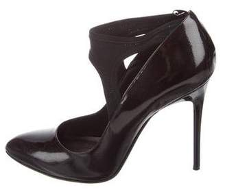7 For All Mankind Patent Semi Pointed-Toe Pumps