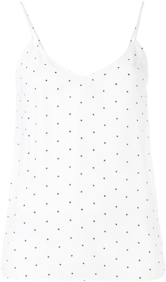 Equipment Equipment dotted tank top