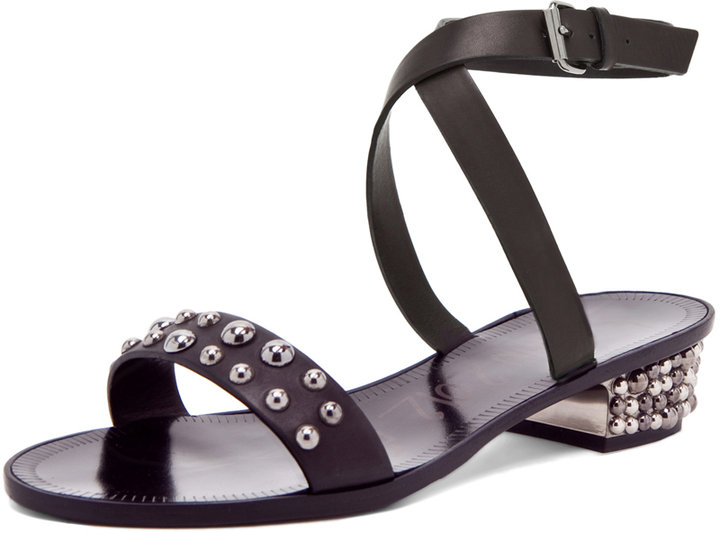 Lanvin Avec Sandal in Black