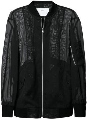 Toga mesh blouson jacket