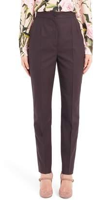 Dolce & Gabbana Stretch Wool Skinny Pants