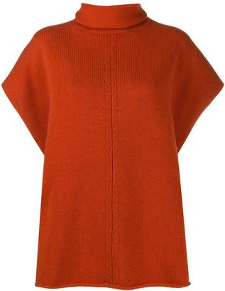 Joseph Poncho knitted jumper