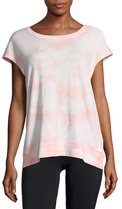Calvin Klein Tie-Dyed Short-Sleeve Top