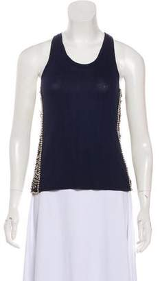 Gryphon Embellished Sleeveless Top
