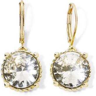 JCPenney MONET JEWELRY Monet Gold-Tone & Crystal Drop Earrings