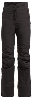 Fendi High Rise Padded Technical Ski Trousers - Womens - Black